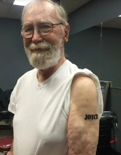15 grandparents who proudly display their tattoos 1