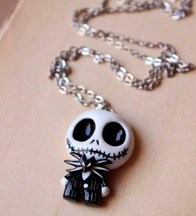 Halloween inspired accessory of a necklace from Jack's Strange World