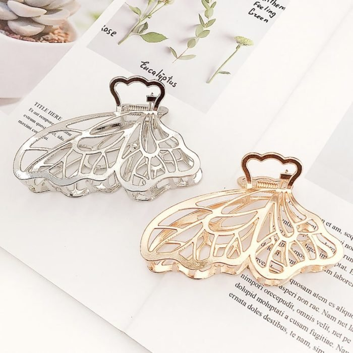 Butterfly hair clips; accessories with butterflies to welcome autumn