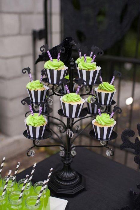 Cupcakes baby shower de El extraño mundo de Jack