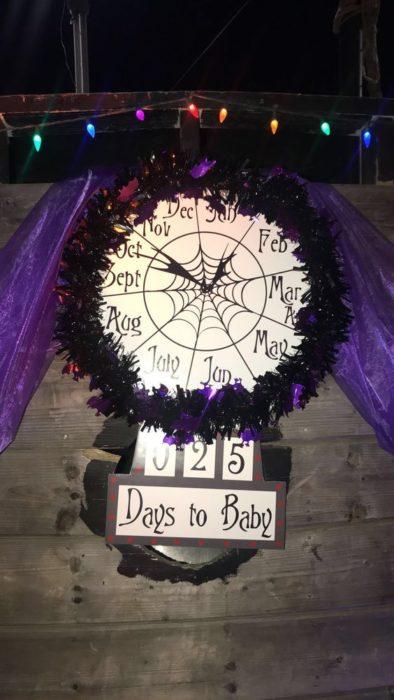 Decoración para baby shower de El extraño mundo de Jack