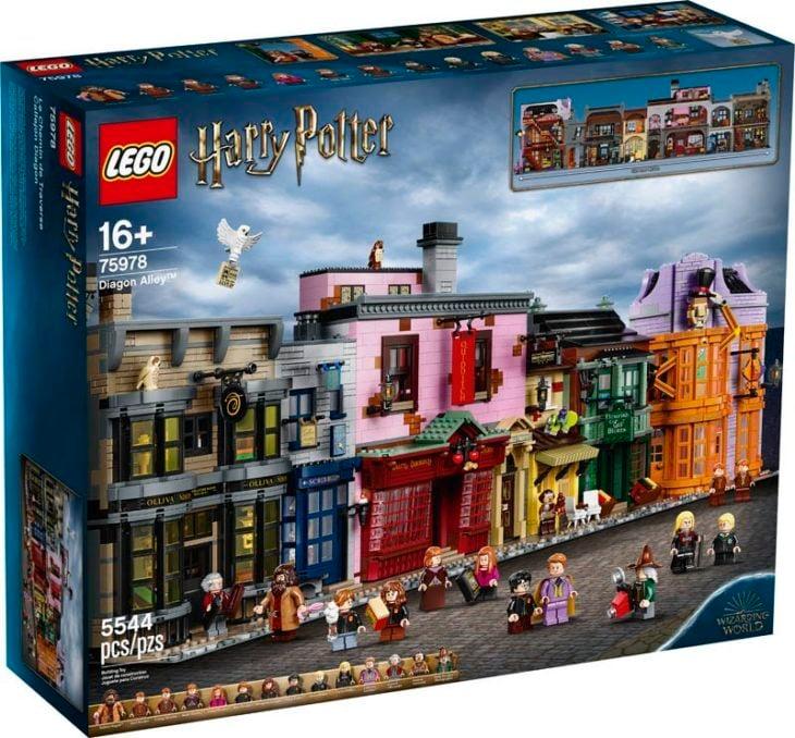 Lego presenta la colección de Legos del callejón Diagon de Harry Potter