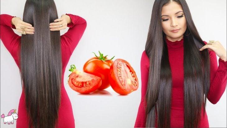 Tomato shampoo