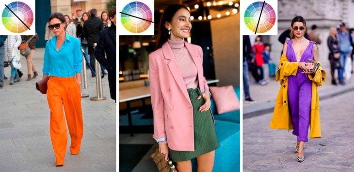 Outfits con colores complementrios