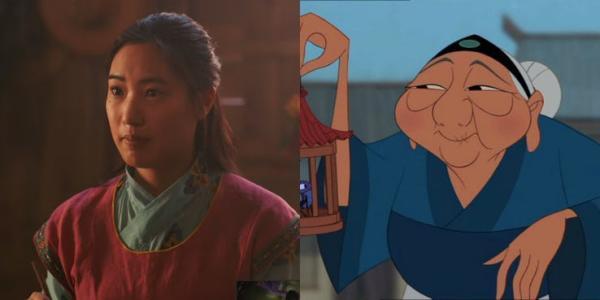 Hermana y abuela de Mulan