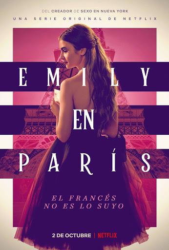 Publicidad de la serie Emily en Paris