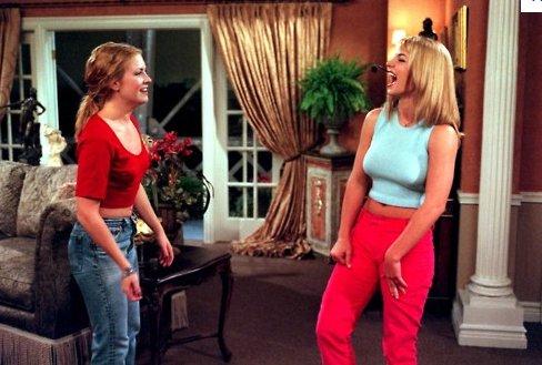 Escena de la película Sabrina: La bruja adolescente en la que aparece Britney Spears bailando