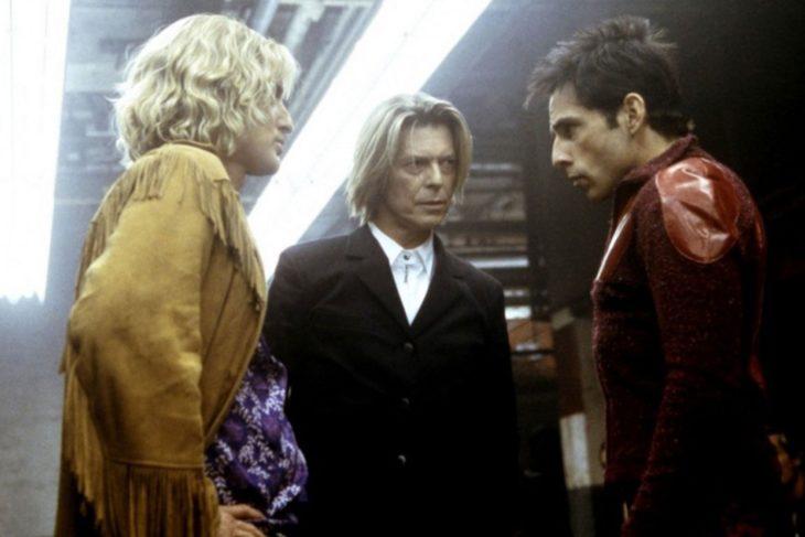 Escena de la película Zoolander en la que aparece David Bowie