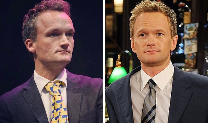 Neil Patrick Harris y su doble