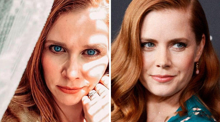 Amy Adams y su doble