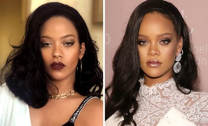 Rihanna y su doble
