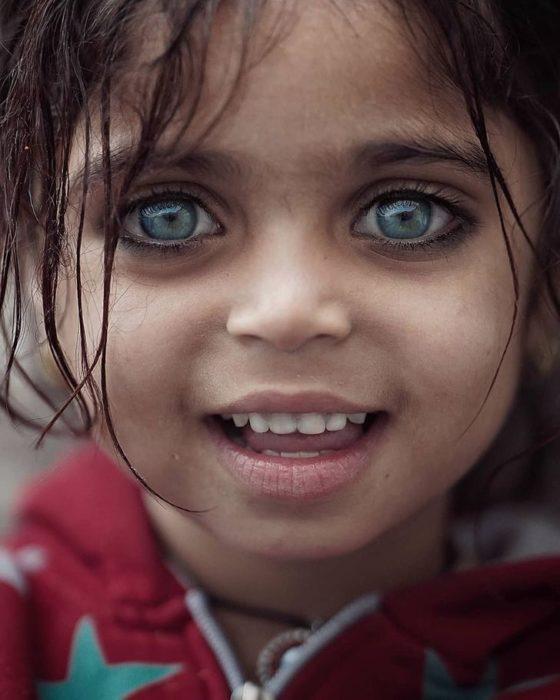 Fotografías ojos de niños de Turquía
