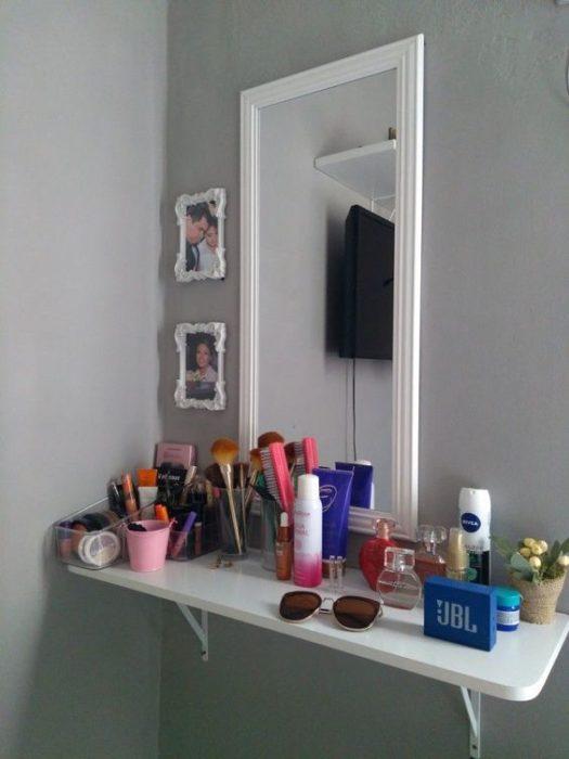 Ideas para rincón de maquillaje o tocadores