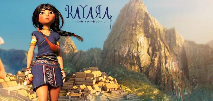 Publicidad para la película Kayara, de César Zelada
