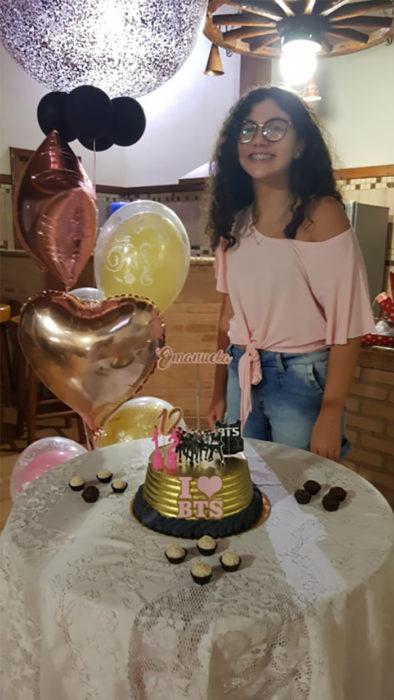 Broma fiesta sorpresa de Kim joung