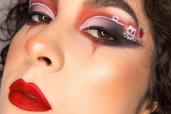 Maquillaje de ojos de 'eso'