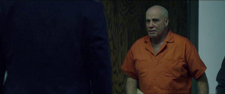John Travolta en la película El jefe de la mafia