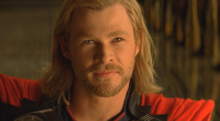 Chris Hemsworth interpretando a Thor en la primer película