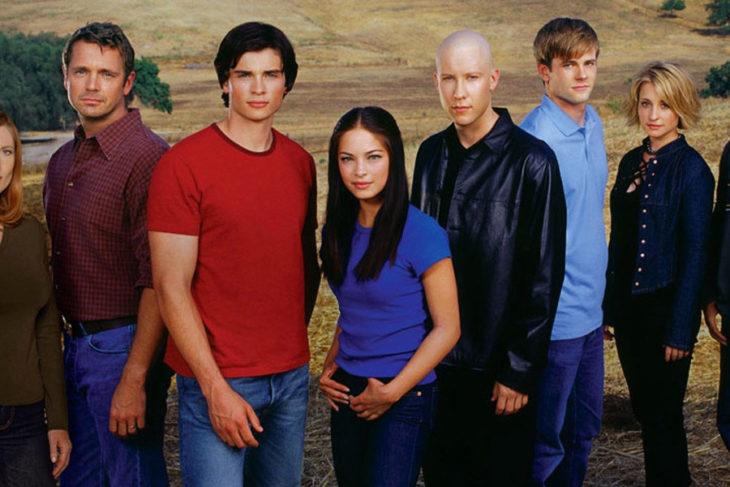 Escena de la serie Smallville