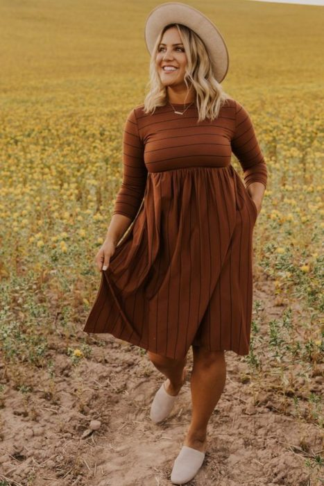 15 fashion trends for curvy girls to show off in fall 12
