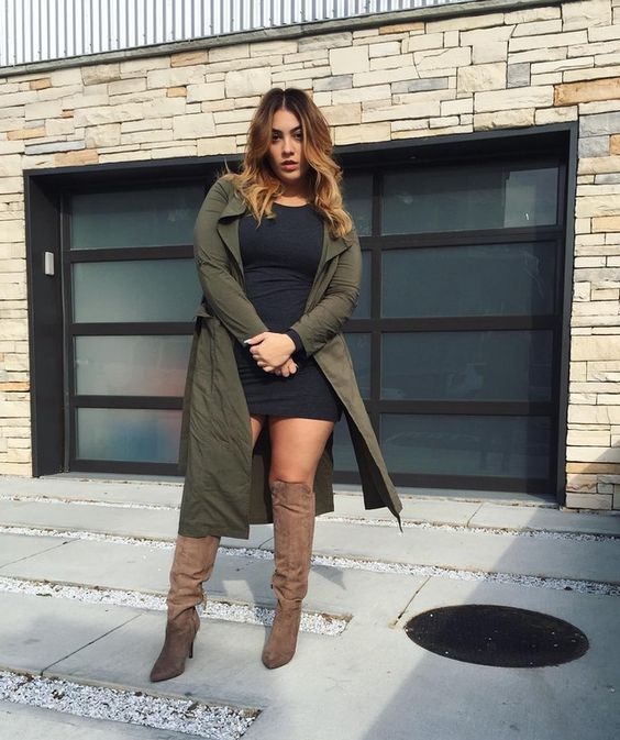 15 fashion trends for curvy girls to show off in fall 3