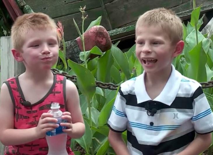 Jorda, niño de 9 años, quiere ser adoptado; hermanos pequeños riendo