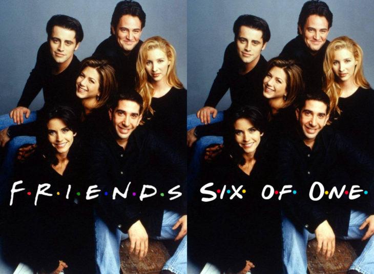 Nombres originales de series; Friends, six of us