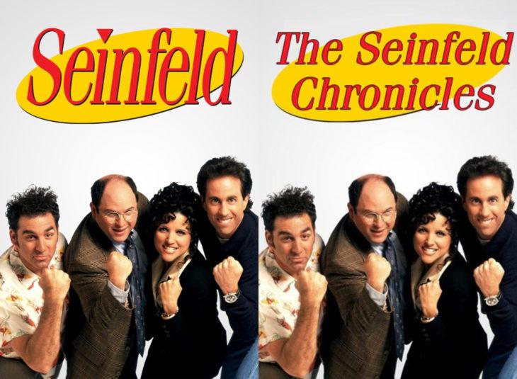Nombres originales de series; Seinfeld, The seinfeld chronicles