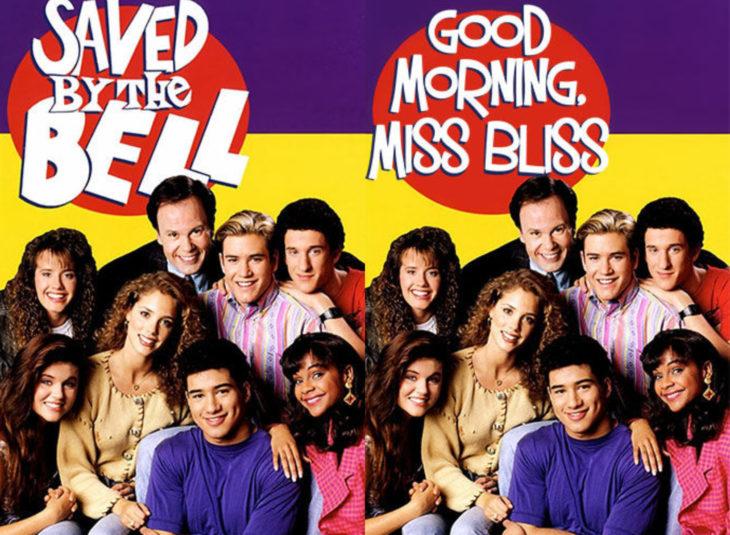 Nombres originales de series; Saved by the bell, Salvados por la campana, Good morning Miss Bliss