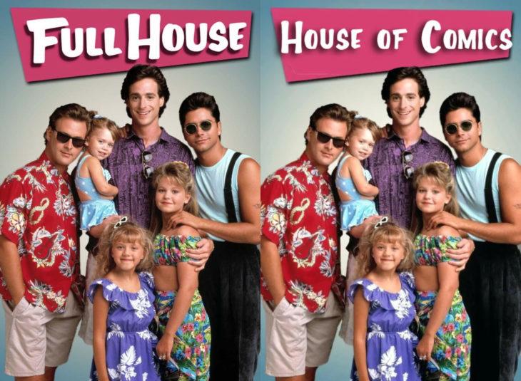 Nombres originales de series; Full hpuse, House of comics