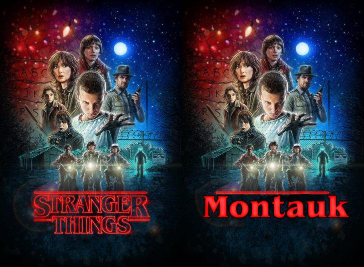 Nombres originales de series; Stranger things, Montauk