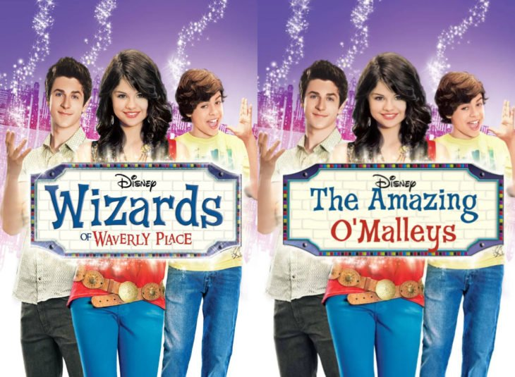 Nombres originales de series; Wizards of Waverly place, Los hechiceros de Waverly Place, The amazing O'Malleys