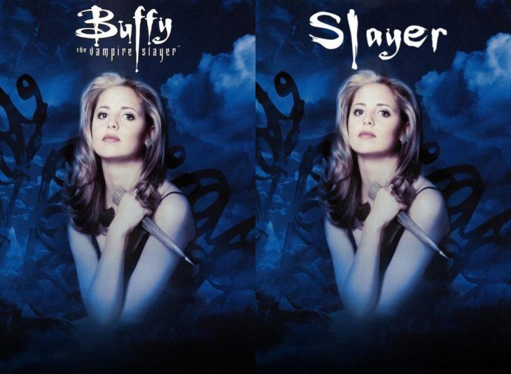 Nombres originales de series; Buffy la cazavampiros, Slayer