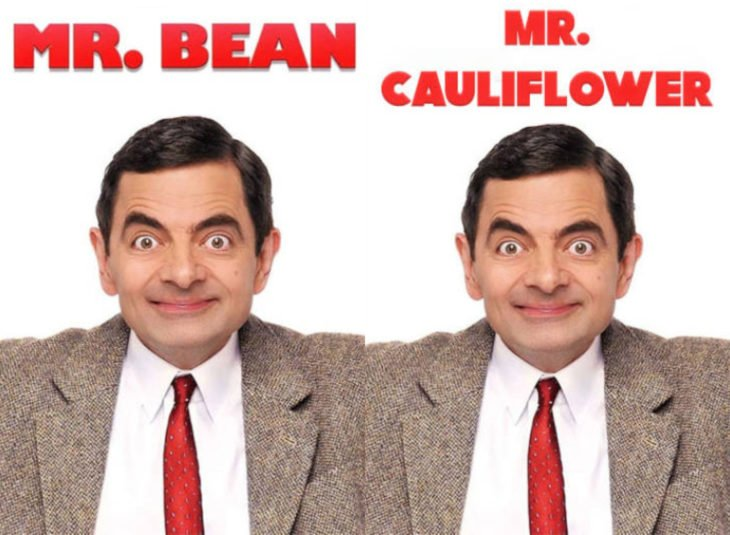 Nombres originales de series; Mr. Bean, Mr. Cauliflower