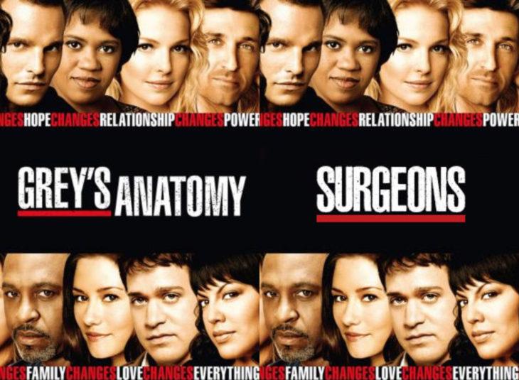 Nombres originales de series; Grey's Anatomy, Surgeons