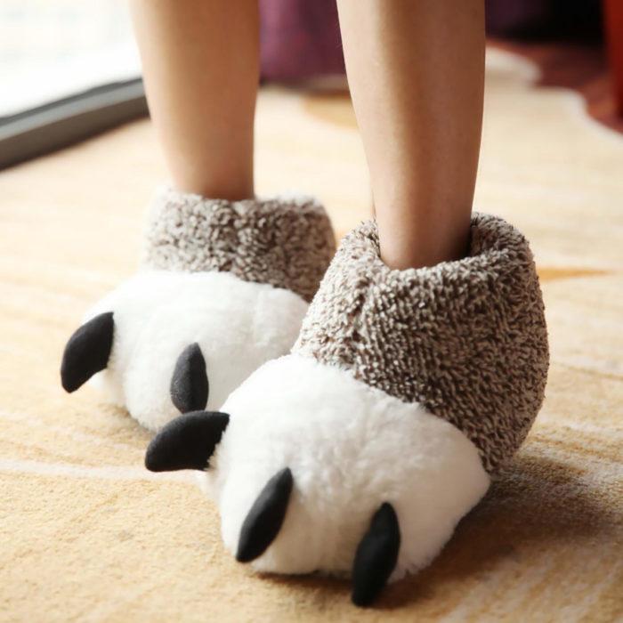 Cute, kawaii, cute dinosaur slippers