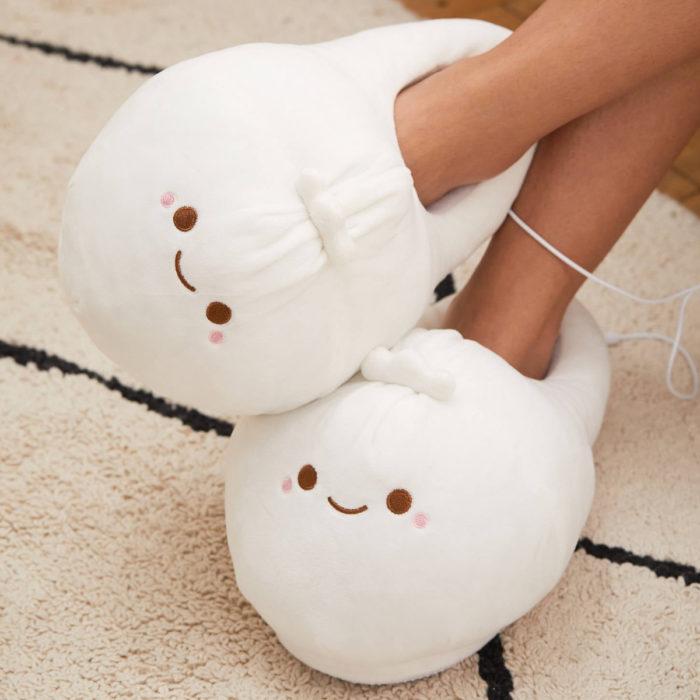 Cute, kawaii, cute dumpling slippers