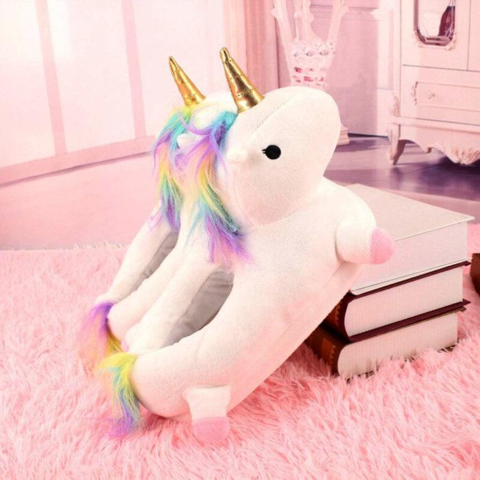 Cute, kawaii, cute unicorn slippers