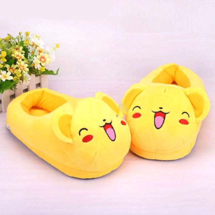 Cute, kawaii, cute Kero slippers from Sakura Card Captors