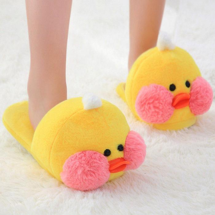 Cute, kawaii, cute chick slippers
