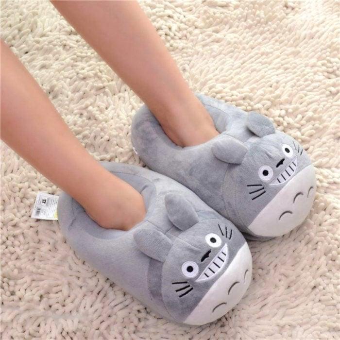Cute, kawaii, cute Totoro slippers from Spirited Away