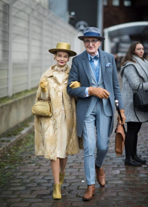 Britt Kanja y Günther Krabbenhöft