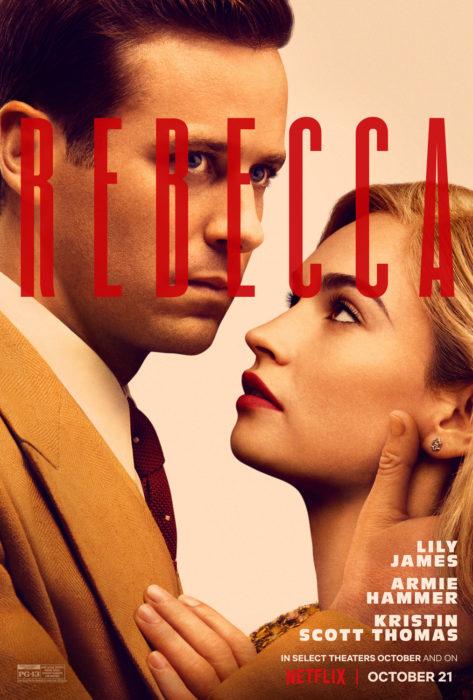 Poster de la película Rebeca
