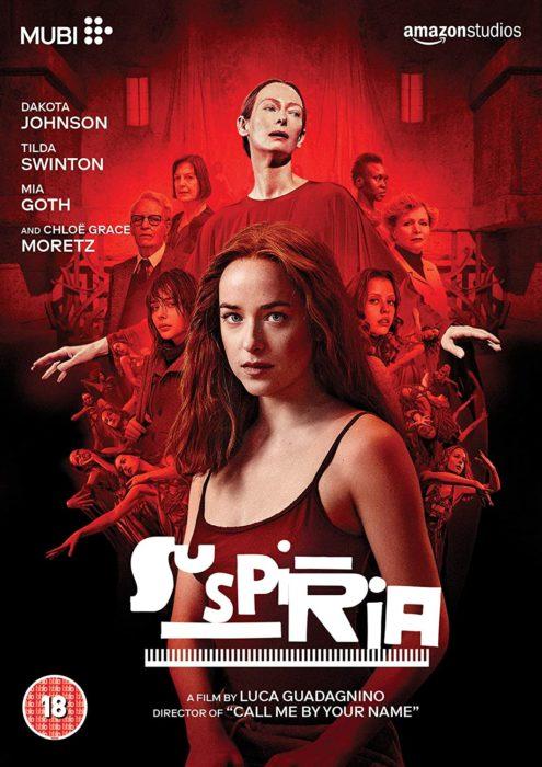 Poster de la película Suspiria