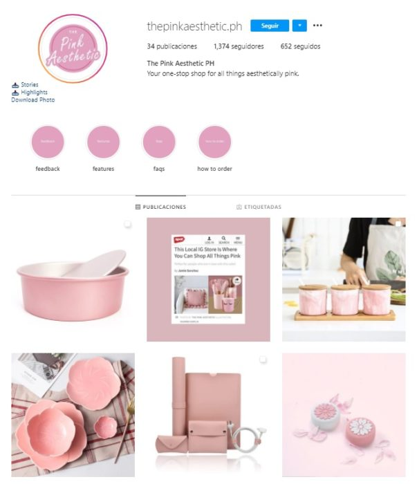 The Pink Aesthetic