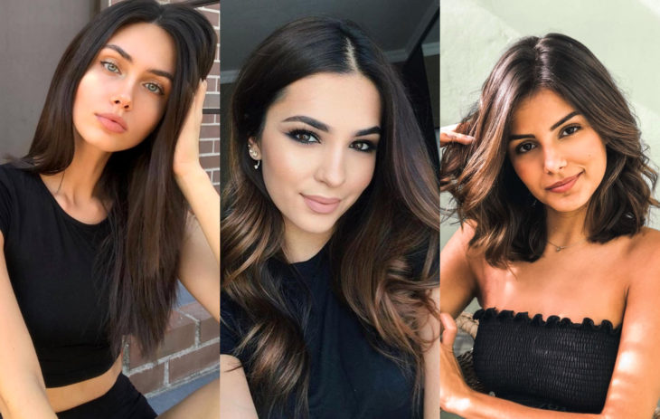 Fall 2020 trend hair dyes; espresso chestnut color