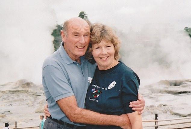 Tony Williams y su esposa