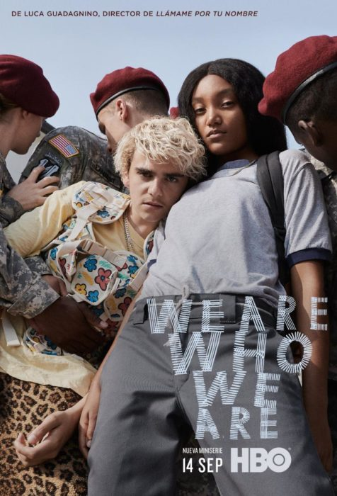 'We Are Who We Are' poster