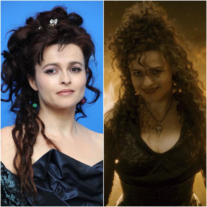 Helena Bonham Carter como Bellatrix Lestrange