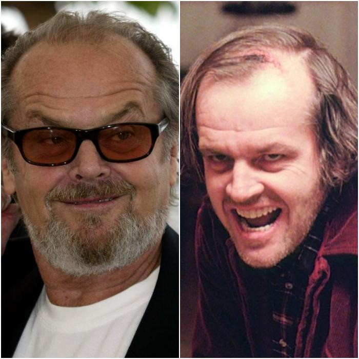 Jack Nicholson como Jack Torrance
